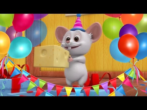 Happy Birthday Song | Kids Party Songs & Nursery Rhymes | Best Birthday Wishes & Songs Collection