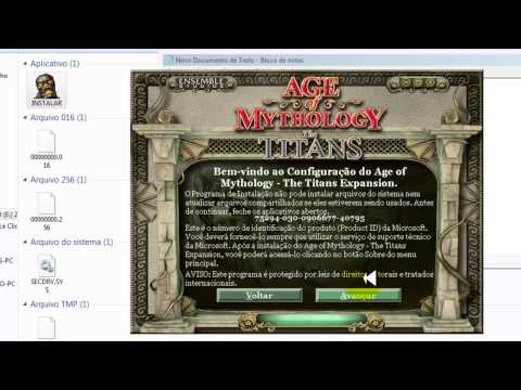 Como baixar e instalar age of mythology the titans expansion