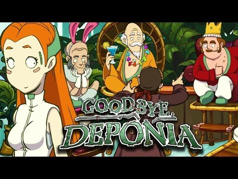 GOODBYE DEPONIA [HD+] #040 - Endlich Elysium (ENDE) ★ Let's Play Goodbye Deponia