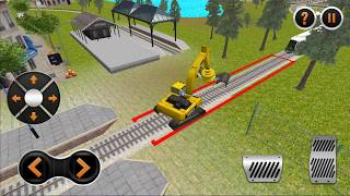 Indian Train City Drive Road Construction Sim - #1 | Android Gameplay (Cartoon Games Network)