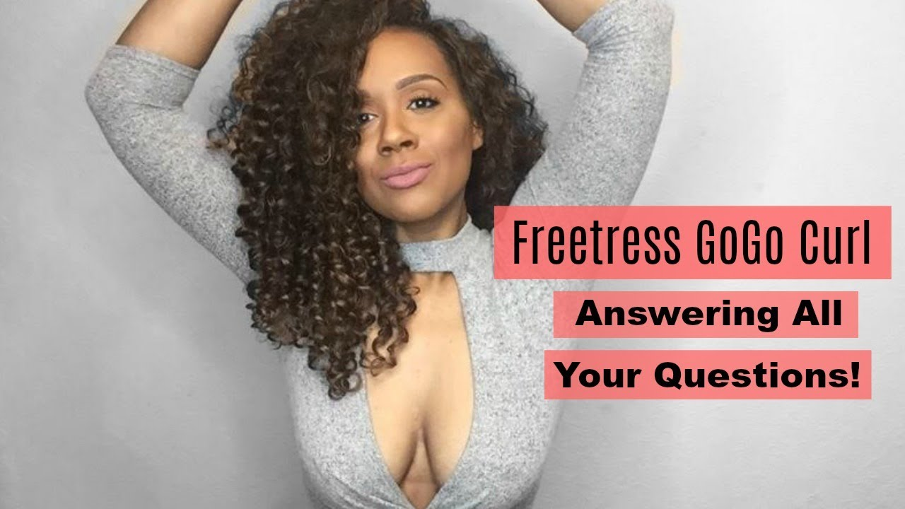 Crochet braids with freetress gogo curl