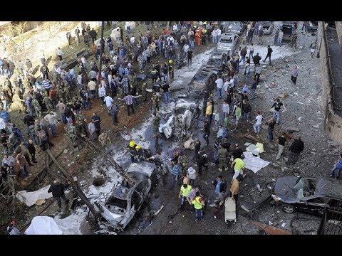 Beirut twin bombings: footage emerges of chaotic aftermath
