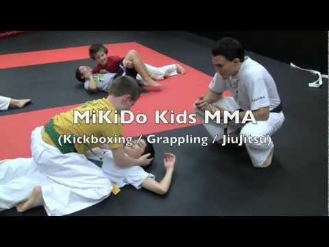 MiKiDo Kids Club - Grappling Technique Drilling - JiuJitsu - MMA - Fitness - Kickboxing Image 1