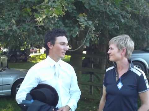 Land Rover Burghley Horse Trials 2011 Hamish Cargill Interview
