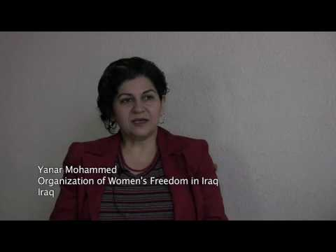 Participant Profile: Yanar Mohammed of Organization for Women's Freedom in Iraq