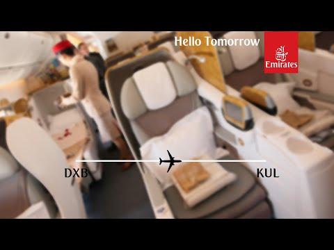 Flight Report: Emirates EK346 Dubai to Kuala Lumpur Business Class