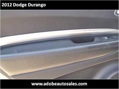 2012 Dodge Durango Used Cars Lubbock TX