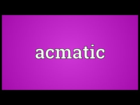 Header of acmatic