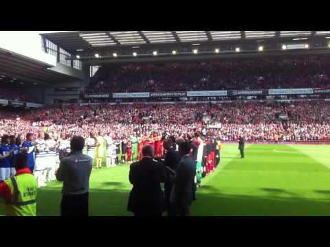 Liverpool vs QPR 19/05/13 Jamie Carraghers last game