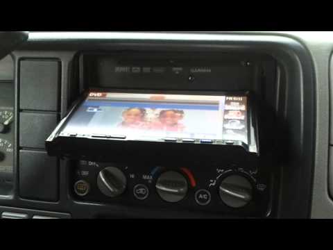 Double din in 98 Chevy Tahoe