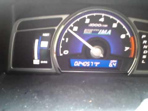 Civic Hybrid IMA battery problem - YouTube