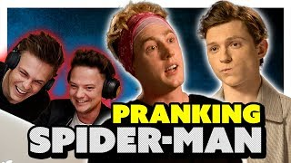 Download Lagu TOM HOLLAND INTERVIEW *PRANK* (EARPIECE) ft Conor Maynard & Caspar Lee Gratis STAFABAND
