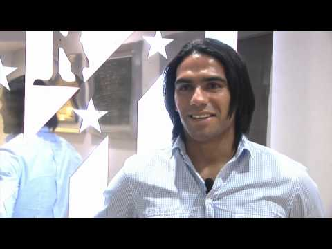 Falcao habla de la gira centroamericana del Atlético