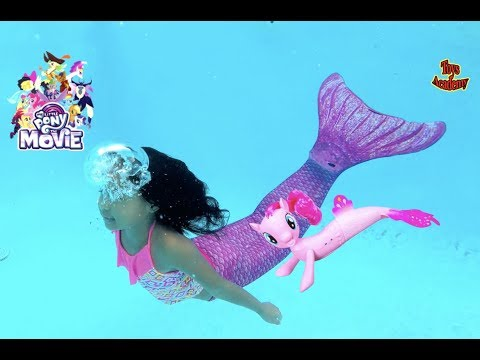 Magic Unicorn Grants Wish Mermaid My Little Pony Seapony | Toys Academy