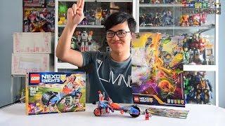 [TMT][311] Giới thiệu Lego Nexo Knight 70319 Macy's Thunder Mace! Chùy Sấm Sét Của Macy! (Engsub)