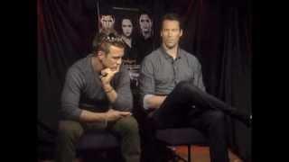 Twilight Volturi Charlie Bewley and Daniel Cudmore Discuss Breaking Dawn Part 2
