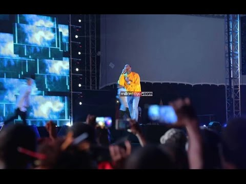 Chris Brown Mombasa Rocks Music Festival performance