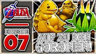 """""""AUFSTIEG ZU DEN GORONEN! 😄""""   The Legend of Zelda: Ocarina of Time 3D #07"""