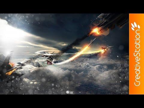 War - Speed art (#Photoshop) | CreativeStation