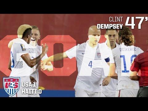 MNT vs. Haiti: Clint Dempsey Goal - July 10, 2015