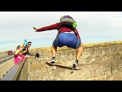Skateboard BASE Jump | BASE Dreams 2 Bonus
