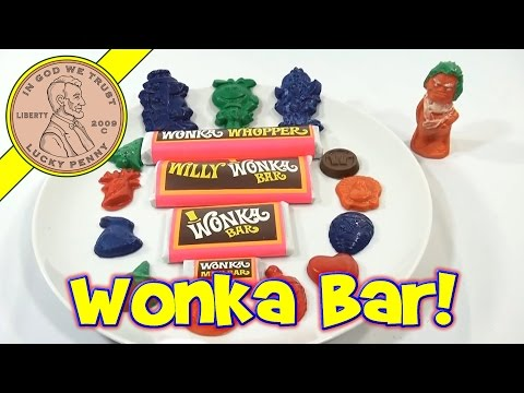 Willy Wonka & The Chocolate Factory Candy Maker Kit. 1971 - Make Wonka Bars!