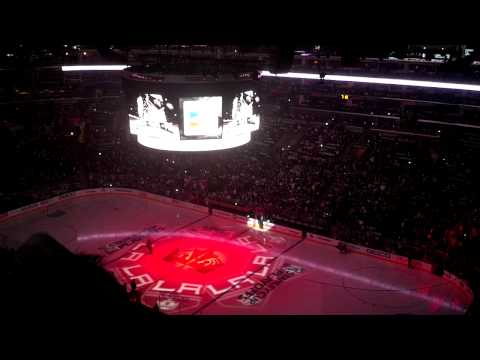Los Angeles Kings Entrance Game 4 WCQF vs Blues
