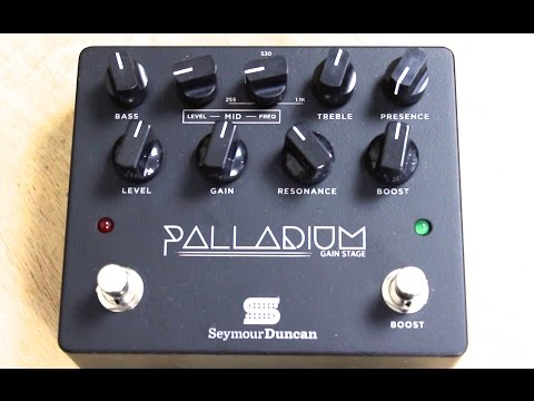 Seymour Duncan Palladium Gain Stage Overdrive Pedal