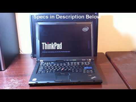 IBM Lenovo Thinkpad T61 Boot