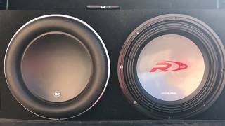 JL AUDIO W7 12 vs. ALPINE TYPE R 12 MAX SPL SHOWDOWN