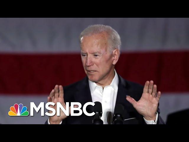 Joe Biden The Candidate To Beat President Donald Trump?  Deadline  MSNBC