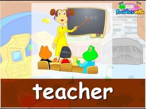 Jobs Vocabulary, Sentences Lesson, English For Kids video