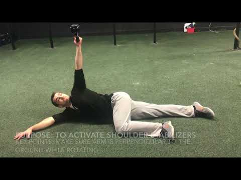 How to prevent a baseball related shoulder injury