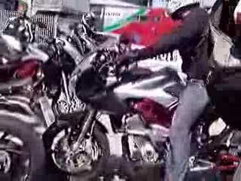 2007 Benelli Tre-K 1130 triple by Raptorsandrockets.com Video
