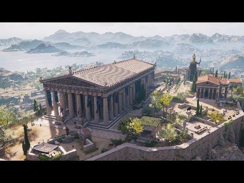 Assassin's Creed Odyssey: How Ubisoft Rebuilt Athens