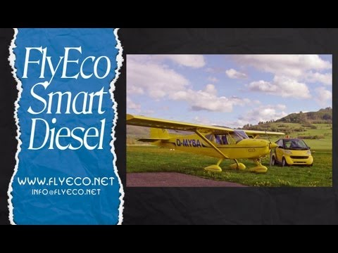 FlyEco Smart Diesel turbo charged engine for ultralight and light sport aircraft from FlyEco.