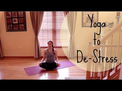Yoga To De-Stress | Yoga With Christina | HD Version