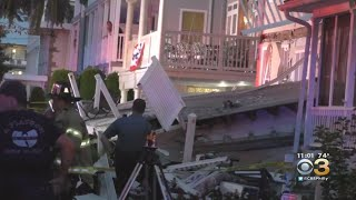 At Least 21 People Hurt In Deck Collapses At Home In Wildwood, Officials Say