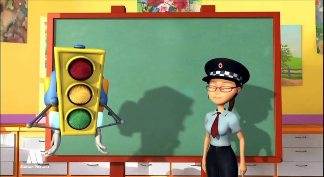 GreenLight - Traffic signs for kids, educational videos to learn ...