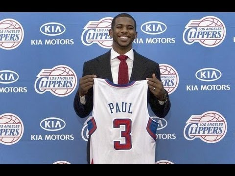 Chris Paul to Los Angeles Clippers, Lamar Odom to Mavericks, Tyson Chandler to Knicks