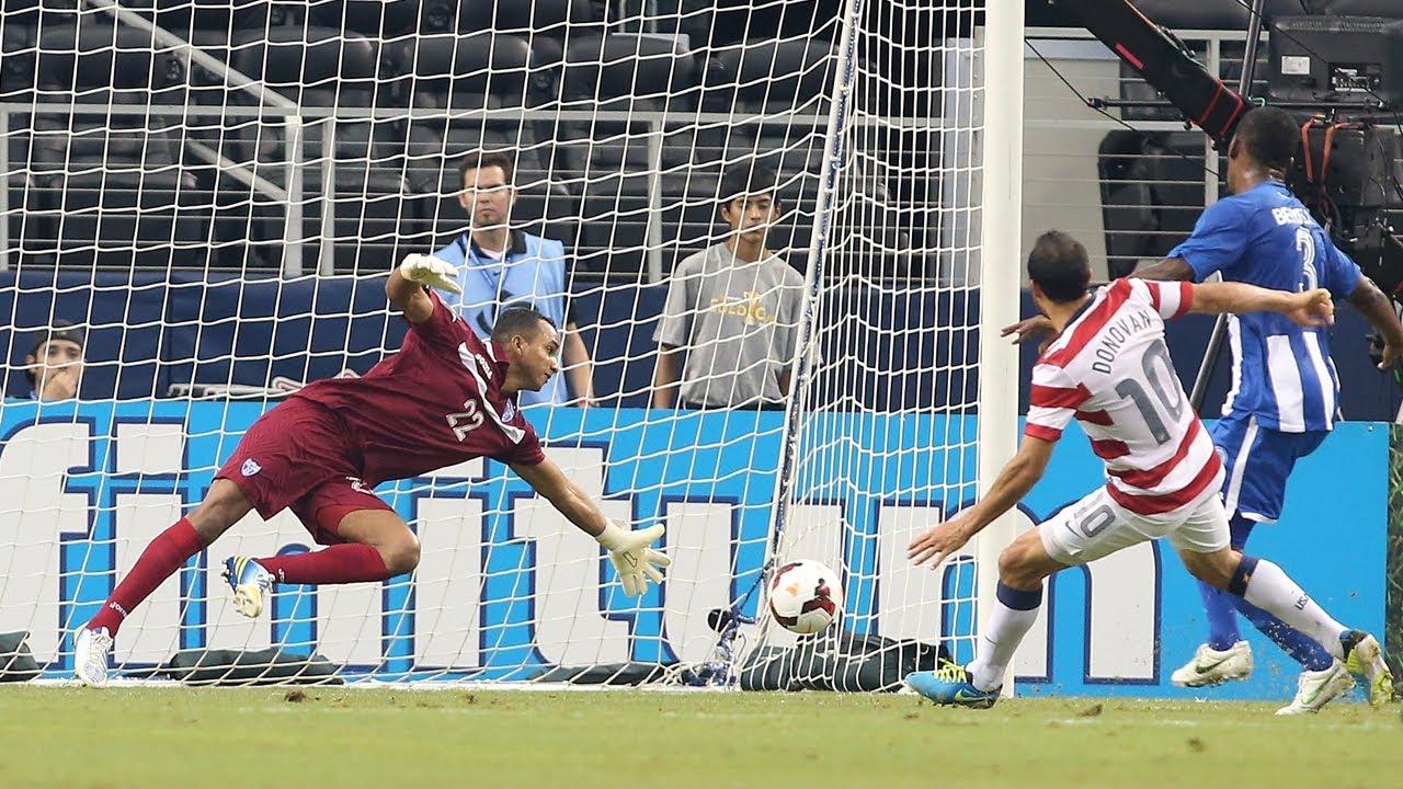 MNT vs. Honduras: Landon Donovan Goal - July 24, 2013 ...