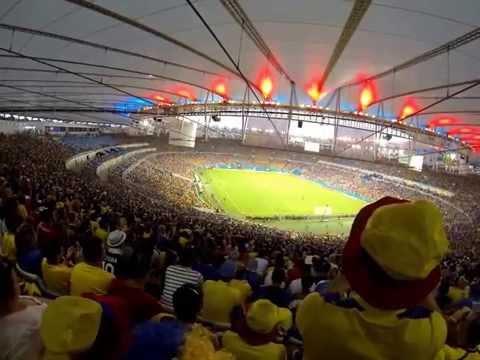 Mon film au Maracana France VS Ecuador Copa do Mundo 2014