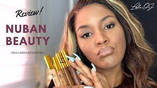 Nuban Beauty Review: Review & Tutorial #NaijaBrandsSeries