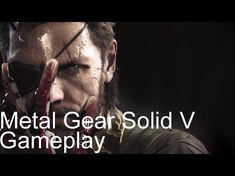 MGS5 - Angola-Zaire Border Region, Central Africa (Gameplay)
