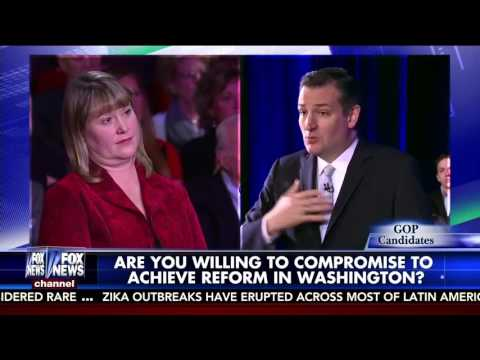 Ted Cruz on the Kelly File Town Hall in Houston, Texas | February 24, 2016