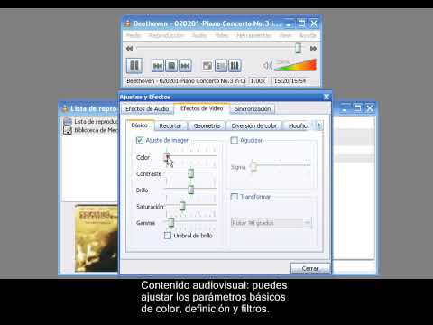 Videotutorial de VLC media player 2