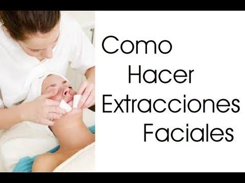 Como Hacer Extracciones Faciales