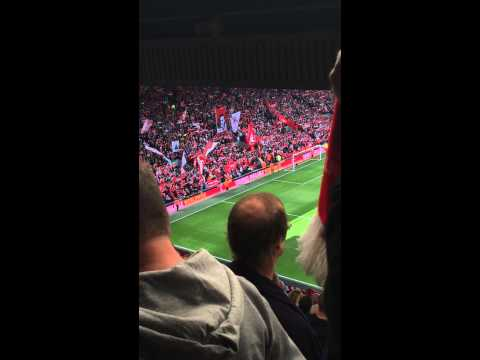 Liverpool vs Southampton - You'll Never Walk Alone (17/08/14 2-1)