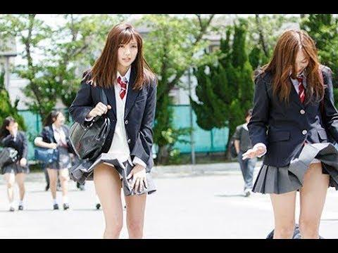 Tại sao Nữ sinh Nhật Bản mặc váy ngắn - Thời trang phang thời tiết | vay ngan nhat ban