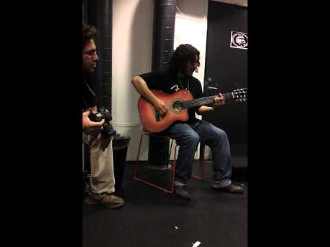 Raimundo Amador backstage